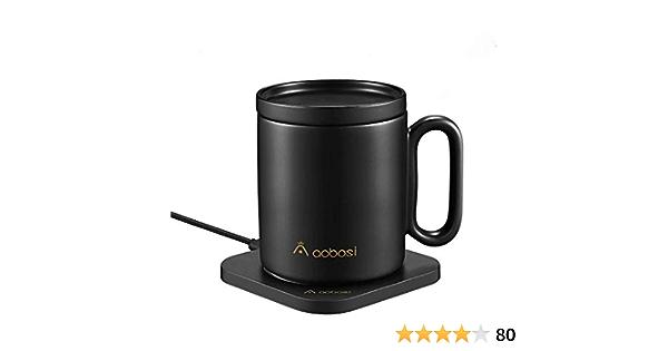 chauffe-tasse /à caf/é pour bureau /à domicile avec plaque de base chauffante /électrique pour lait//th/é//caf/é//c/ér/éales Chauffe-tasse USB