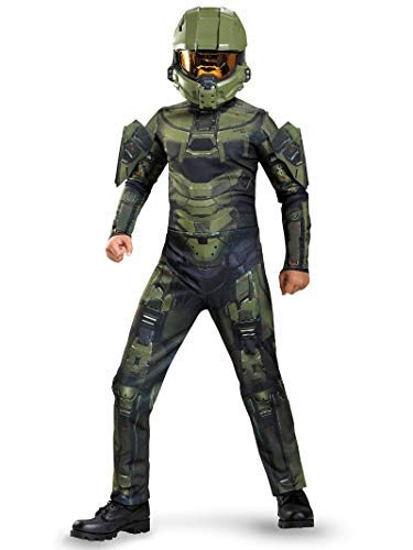 Best Children's Halloween Costumes 2019 (Master Chief Classic Costume, Medium (7-8), One)
