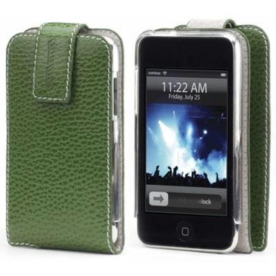 Folio for Ipod Touch 2G Green (Folio Design Contour)