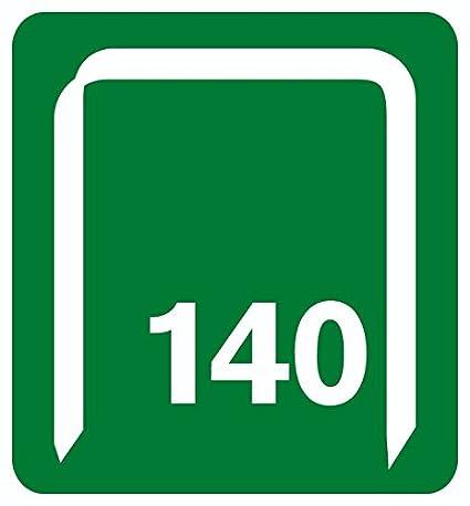 Rapid 11910731 Heftklammern Gr/ö/ße 140//10 2000 St/ück 10 mm