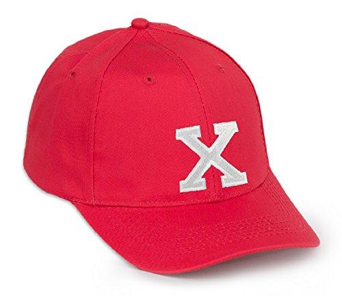 con de Gorra rojo color letras en A letra negro Z X béisbol ZnqdIq
