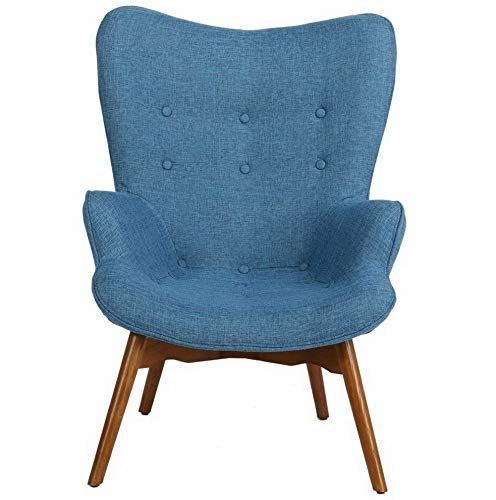 Amazon.com: Hebel Anders Mid-Century Accent Chair | Model CCNTCHR - 156 |: Kitchen & Dining