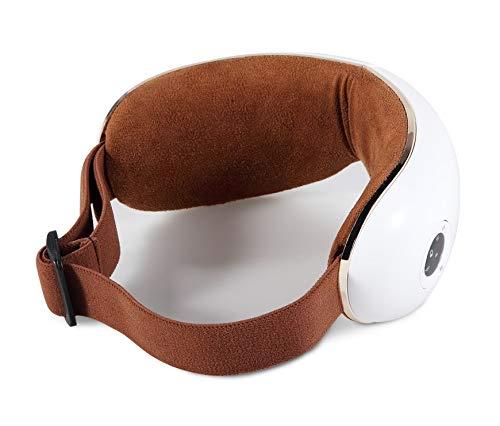 SKANDAS® Massaggiatore per occhi (modello 2020) - Maschera elettrica per occhio – Massaggiatore bicchieri con massaggio… 7 spesavip