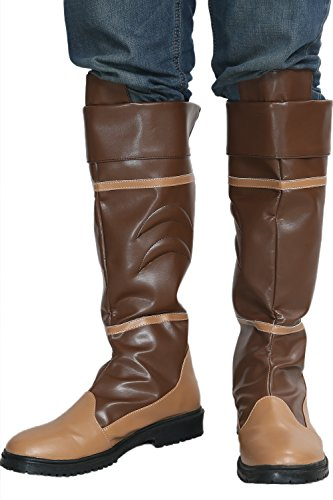 Legend Link Boots Pu-leather Brown Zelda Heren Coaply Costume Schoenen
