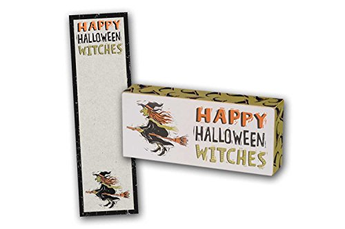 Halloween Theme Gift Sets - Notepad and Box Sign Happy Halloween (Halloween Gift Ideas Adults)