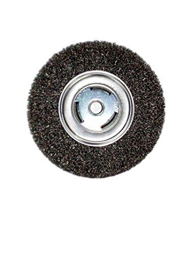 Sait 06559 7 Inch Bench Grinder Metal Wire Wheel ()