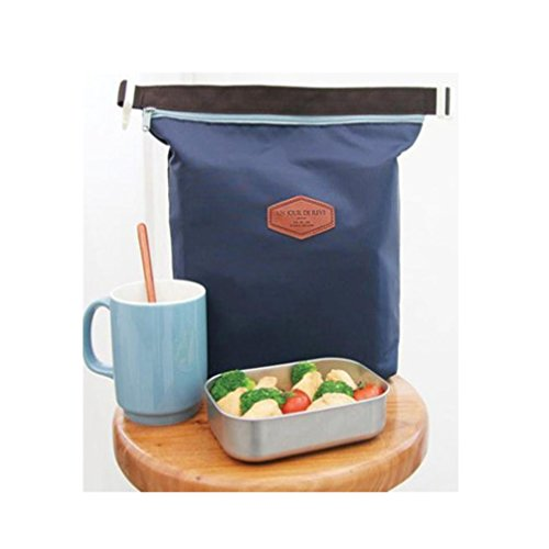 Price comparison product image Surper® Waterproof Food Storage Bag Tote Portable Insulated Pouch Cooler (D)