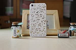LYYF New and Cute the Bird's Nest Hollow Out Hard Case/cover Case For Ipod Touch 4 Cover (White)