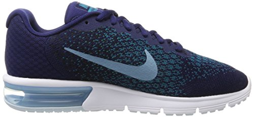 Zapatillas Hombre Cerulean para 2 de 405 Sequent Air Black NIKE Binary Running Blue Blustery Multicolor MAX qw8TaFI