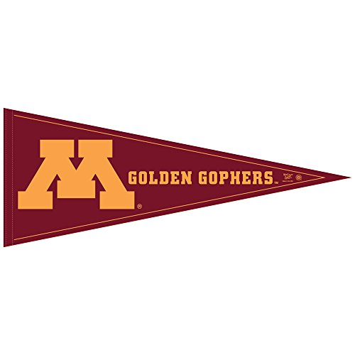 University Ncaa College Pennant (NCAA University of Minnesota WCR63921471 Carded Classic Pennant, 12