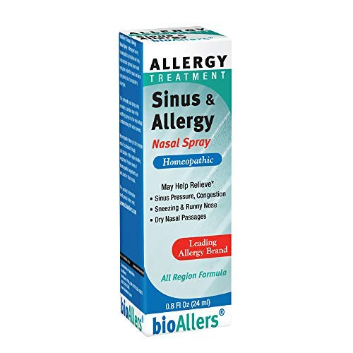 Sinus & Allergy Nasal Spray #708 BioAllers 0.8 oz. Spray