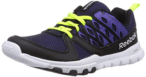 Team Damen 2 Hallenschuhe Yellow Train Reebok 0 Schwarz Solar Purple White Sublite RS Black XwH8t