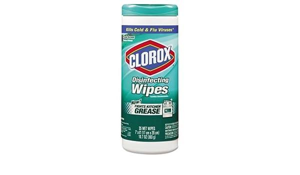 clo01593 - Clorox aroma fresco Desinfección Toallitas Húmedas, gamuza, 7 x 8: Amazon.es: Hogar