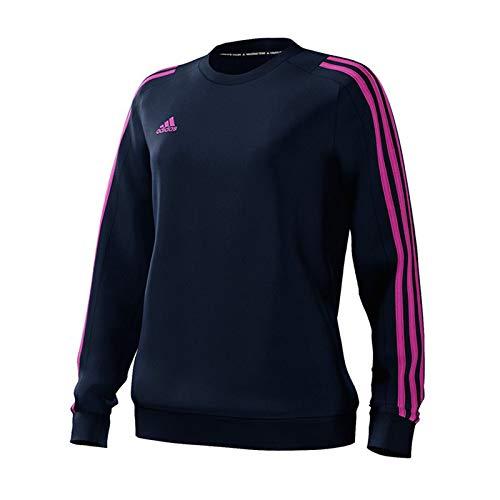 adidas Mi Mi Team 18 Sweat Top - Womens - Collegiate Navy/Collegiate Navy/Intense Pink - UK 16-18 ()