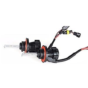 O-NEX BI-XENON H13 9008 HID Bulbs 35W AC Dual Beam Hi/Lo H/L Headlight Replacement 6000K Crystal White