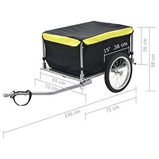 Remolque de Carga 65 kg para Bicicletas 4