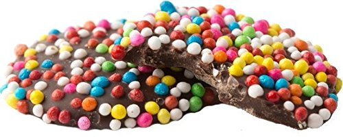 Milk Chocolate Wafers w/Nonpareils- Pack of 6