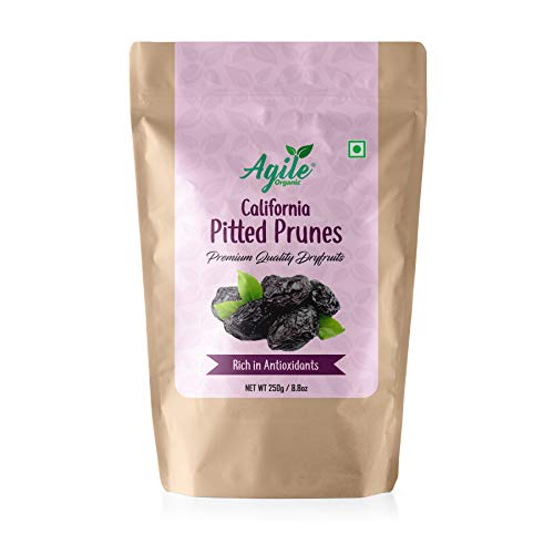 Agile Organic® California Pitted Prunes, 250g (B07S5ZNDN5) Amazon Price History, Amazon Price Tracker