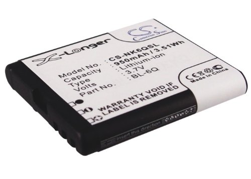 Price comparison product image VINTRONS Replacement Battery For MOBIADO Classic 712 Stealth LE,  Classic 712ZAF (950mAh / 3.52Wh)