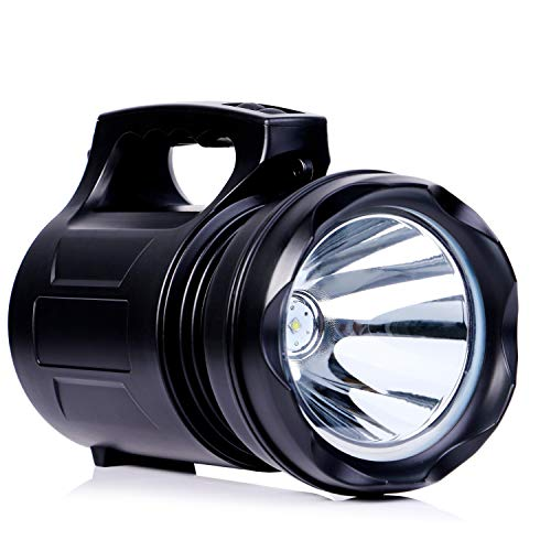 - CSNDICE LED Rechargable Searchlight , High-Power Portable Flashlight, 15000 mAh Large Battery Capacity for a Variety of Harsh environments.