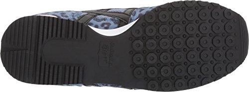 Onitsuka Tiger Womens Alvarado Pigeon Blue/Black Sneaker - 8.5