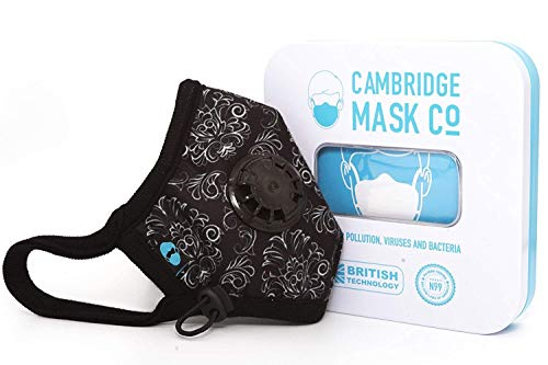 Cambridge Mask Co Pro Anti Pollution N99 Washable Military Grade Respirator with Adjustable Straps - Duke M Pro by Cambridge Mask Co (Image #3)