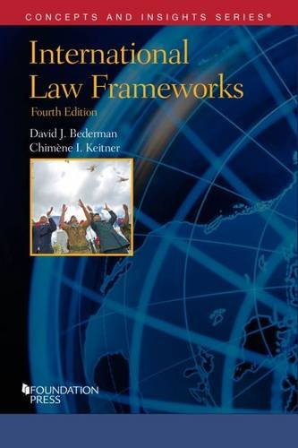 Picture of an International Law Frameworks Concepts and 9781634592932