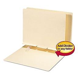 SMD68021 - Smead 68021 Manila Self-Adhesive Folder Dividers by Smead