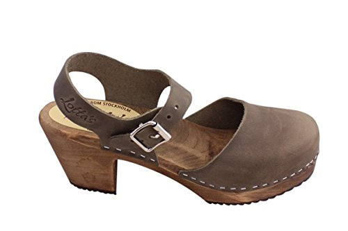 Clogs Highwood with Sole in From Oiled Taupe Lotta Brown Nubuck Swedish Stockholm qwBxIt