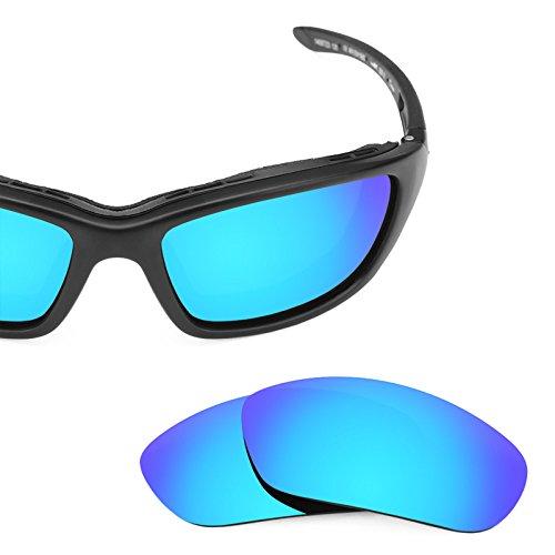 Plusieurs options Wiley pour Polarisés X Glacier Brick rechange MirrorShield® de Bleu — Verres 480wTfqf