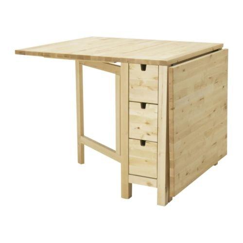 Ikea Gateleg table, white 1626.2928.1014 -