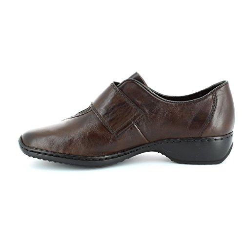 Rieker - Mocasines para hombre marrón Teak marrón - Teak
