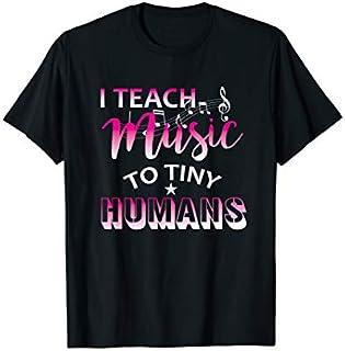 Music Teacher  I Teach Music To Tiny Humans T-shirt | Size S - 5XL