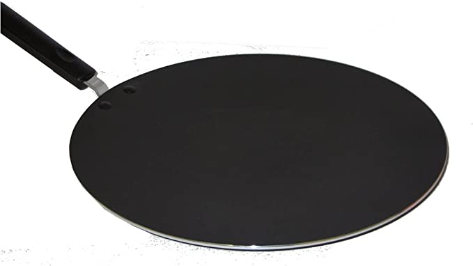 Black Sonex Diecast Premium Marble Coated Non-Stick Griddle Pan For Gas and Electric Hobs with Handle 28 cm
