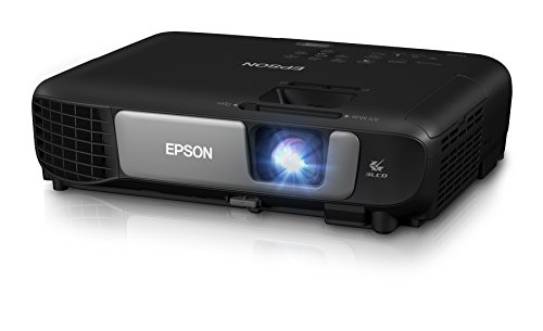 Epson Pro EX7260 WXGA 3,600 lumens color brightness (color light output) 3,600 lumens white brightness (white light output) wireless HDMI MHL 3LCD projector (Lcd 720p Black)