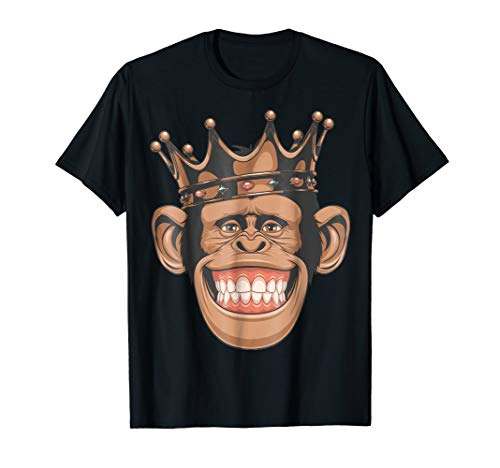 (Cool Monkey Design Funny T shirt - funny)