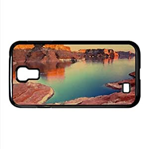 Padre Bay, Lake Powell, Utah Watercolor style Cover Samsung Galaxy S4 I9500 Case (Utah Watercolor style Cover Samsung Galaxy S4 I9500 Case)