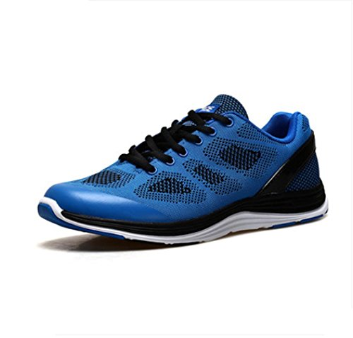 W&P Men's spring summer and autumn fly line woven mesh breathable mesh woven surface damping tourism campaign running shoes... B01LQAJZEE Shoes 4d735a
