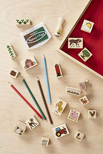 Stamp-a-Scene-Tampons-La Ferme Melissa /& Doug 18592