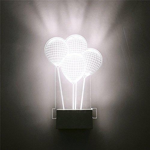 Mur Chambre Yaojiaju Lumière Ballon Led Creative Moderne Lampes 4L3R5qAj
