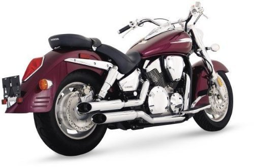 Cruzers Exhaust Hines System (86-04 KAWASAKI VN750A: Vance & Hines Cruzers Exhaust)