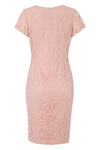 V Fleurie Robe Mariage Femme pour Originals Dentelle Coton Rose1 Ete en Printemps Roman Ceremonie Col Occasion Lger B1wIZFq