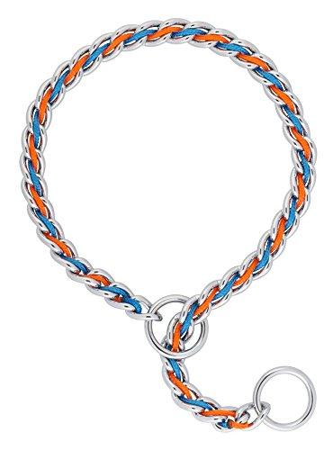 Terrain d.o.g. Laced Choke Cadenas, Azul/Naranja