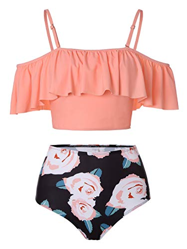 Coral Bikini Set in Australia - 5