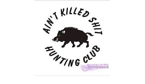 Etiqueta engomada de la caza Coche caza Caza Jabalí Decal Hunter ...