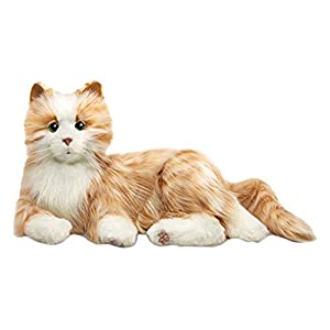Joy For All Orange Tabby Cat - 41ROh1uvAHL - Ageless Innovation | Joy For All Companion Pets | Orange Tabby Cat | Lifelike & Realistic