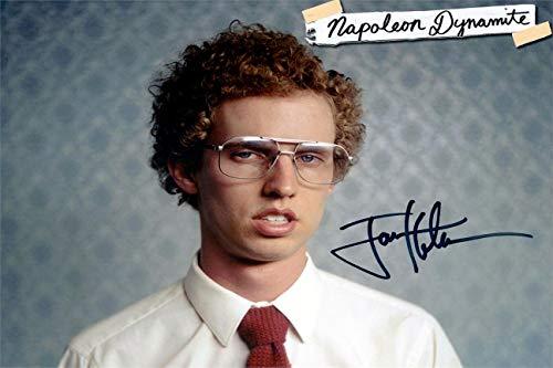 Jon Heder Autograph Replica Super Print - Napoleon Dynomite - Landscape - Unframed