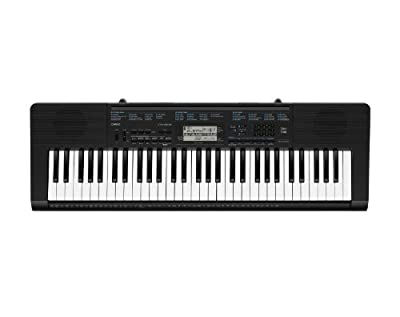 Casio CTK-2300 61-Key Personal Keyboard with Voice Pad Feature and Power Supply from Casio Inc.