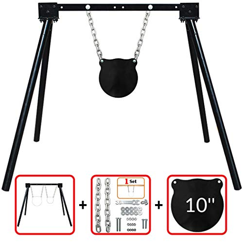 - Highwild AR500 Steel Shooting Target System (Stand, Chain Set & 10