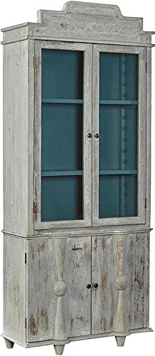 Amazon com - Furniture Classics Display Cabinet NEWCASTLE Stepped